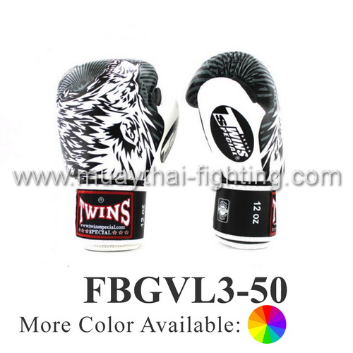 Twins Special Fancy Boxing Gloves Wolf FBGVL3-50