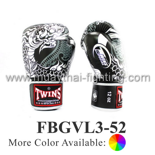 Twins Special Fancy Boxing Gloves Nagas FBGVL3-52