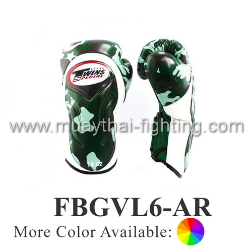 Twins Special Fancy Sparring Gloves Army FBGVL6-AR