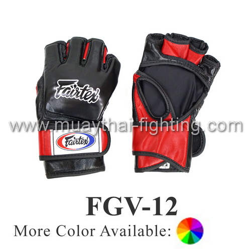 Fairtex Ultimate Combat Gloves with Open Thumb Loop FGV12