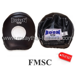 Boon Muay Thai Small Curved Punching Mitts FMSC