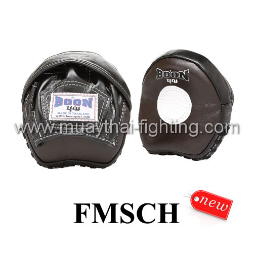 Boon Small Curved Focus Mitts With Hood FMSCH