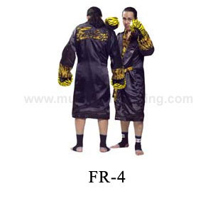 Fairtex Hooded-Fighter-Robe Tiger Pattern FR4