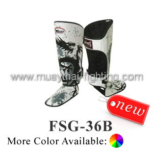 Twins Special Fancy Shin Protection Tribal Dragon FSG-36B