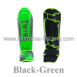 Twins Special Fancy Classic Shin Protection SGL-10-TW4 black/green