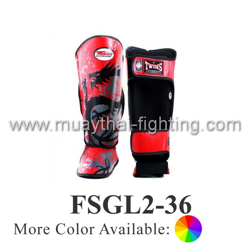 Twins Special Fancy Shin Protection Tribal Dragon FSGL2-36