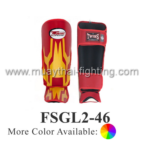 Twins Special Fancy Shin Protection Iron Man FSGL2-46G