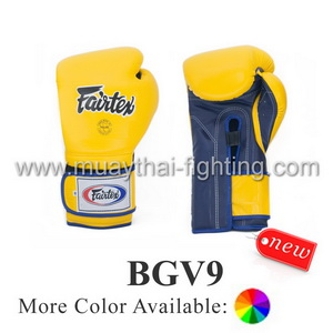 Fairtex Heavy Hitter's Gloves Mexican Style BGV9 Minor Change