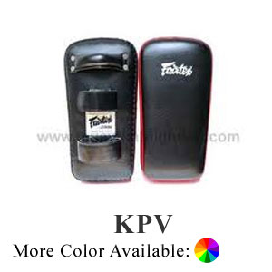 Fairtex Thai Kick Pads, Hook and Loop Closure KPV