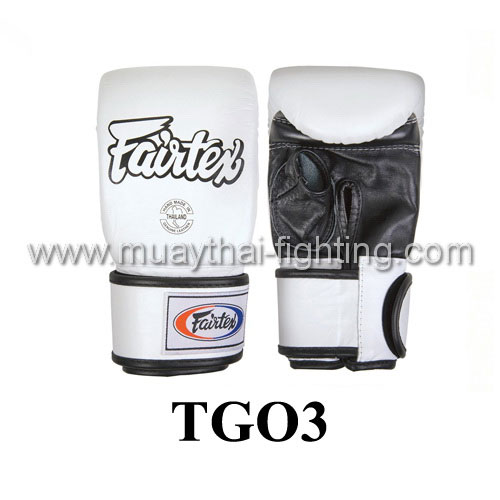 Fairtex Super Sparring Gloves Open Thumb TGO3