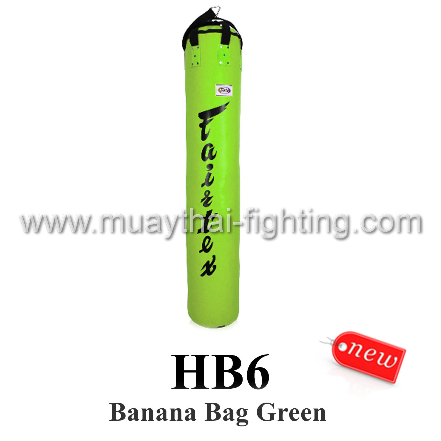 Fairtex 6ft Muay Thai Banana Bag HB6 (UnFilled)- Green