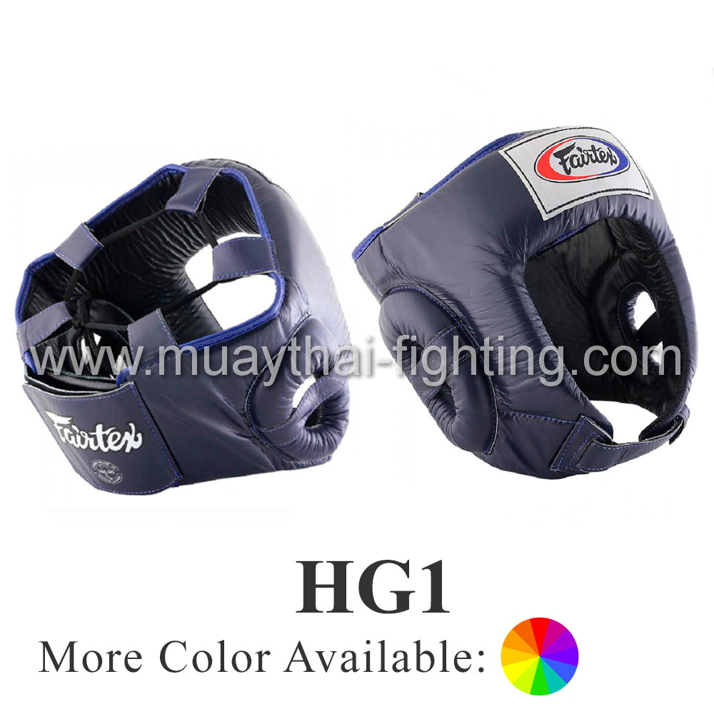 Fairtex Competition Headguard Open Face HG1