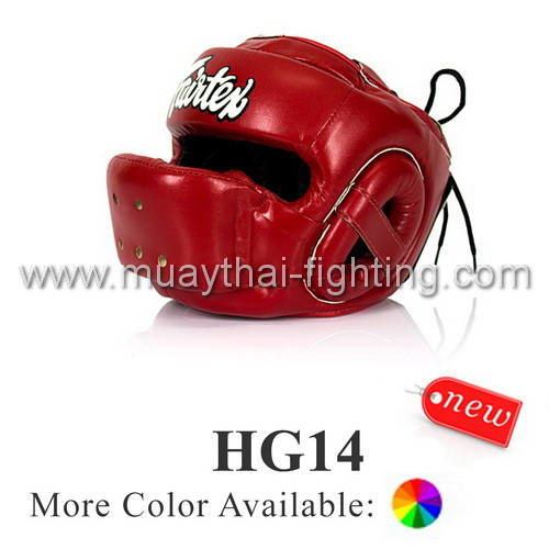 Fairtex Full Face Protector Head Guard HG14