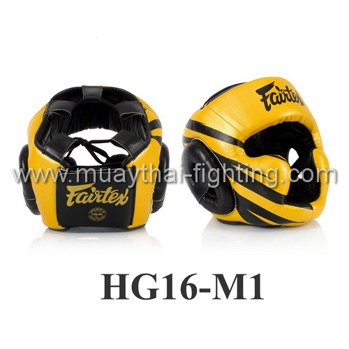 Fairtex Microfiber Headguard HG16M1 (Screen one side)