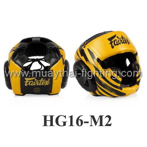 Fairtex Microfiber Headguard HG16M2 (Screen two sides)