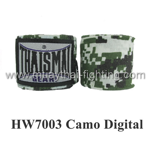 ThaiSmai Fancy Design Elastic Handwraps Camo Digital HW-7003