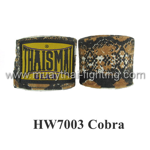 ThaiSmai Fancy Design Elastic Handwraps Cobra  Design HW-7003
