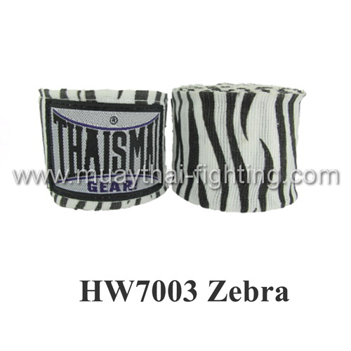 ThaiSmai Fancy Design Elastic Handwraps Zebra Design HW-7003
