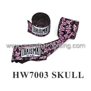 ThaiSmai Fancy Design Elastic Handwraps Skull Design HW-7003