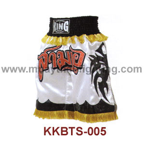Top KING K1 Boxing Trunks Satin KKBTS-005