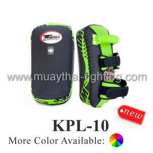 Twins Curved Velcro Thai Kick Pads KPL-10