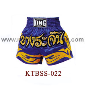 Top King Bangrajun Muay Thai Shorts KTBSS-022