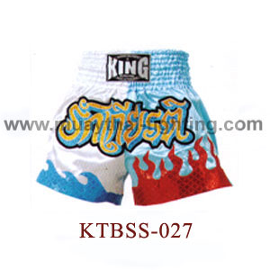 Top King Honour Muay Thai Shorts KTBSS-027