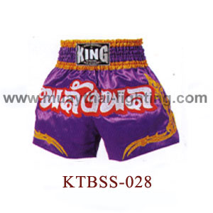 Top King Physical Power Muay Thai Shorts KTBSS-028