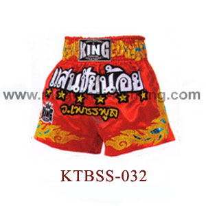 Top King Sanchainoy Muay Thai Shorts KTBSS-032