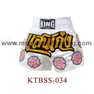 Top King Excellence Muay Thai Shorts KTBSS-034