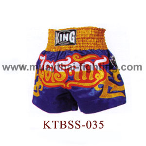 Top King Tri Juck Muay Thai Shorts KTBSS-035