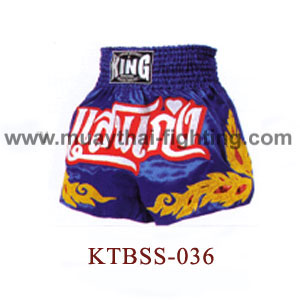 Top King Professional Muay Thai Shorts KTBSS-036