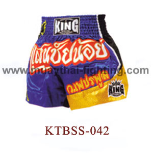 Top King San Chai noi Muay Thai Shorts KTBSS-042