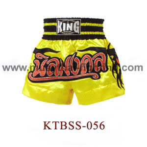 Top King Garland Plconaste Muay Thai Shorts KTBSS-056