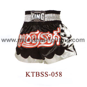 Top King Deat Na Rong Muay Thai Shorts KTBSS-058