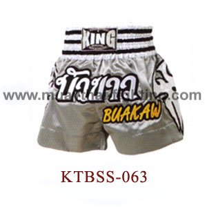 Top King Buakaw Muay Thai Shorts KTBSS-063
