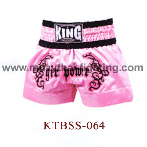 Top King Girl Power Muay Thai Shorts KTBSS-064
