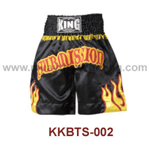 Top KING K1 Boxing Trunks Satin KKBTS-002