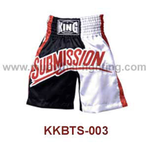 Top KING K1 Boxing Trunks Satin KKBTS-003