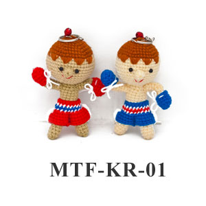 MuayThai Fighting Key Ring Little Boy MTF-KR-01 (1 pc/random)
