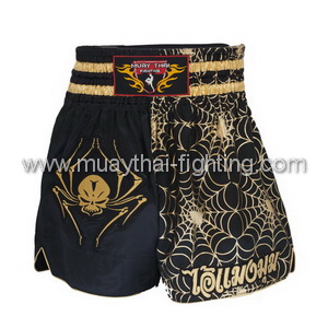 MuayThai-Fighting Shorts Spider Skull MTF-TBS-10