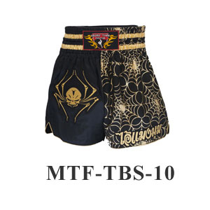 MuayThai-Fighting Spider Skull MuayThai Boxing Shorts MTF-TBS-10
