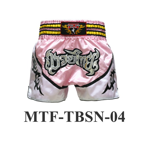 MuayThai-Fighting Pink Muay Thai Boxing Shorts MTF-TBSN-04