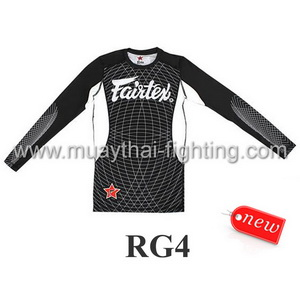 Fairtex Long Sleeves Rash Guard RG4