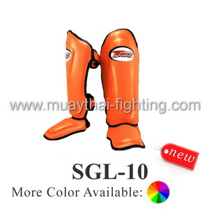 Twins Special Double Padded Shin Protection SGL-10