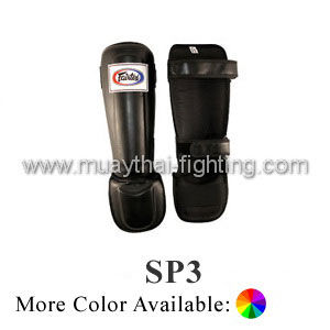Fairtex Shin Guards Pro Style In Step Double Padded Protector SP