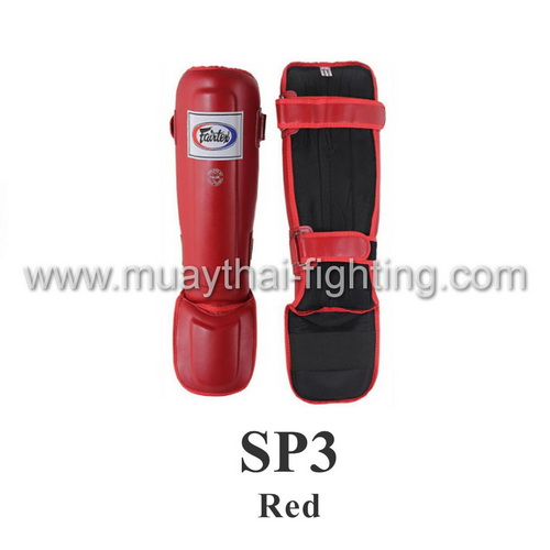 Fairtex Shin Guards In Step Double Padded Protector