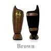 Fairtex Shin Guards SP8-brown