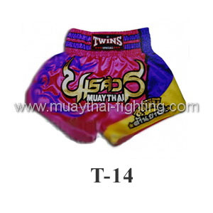 Twins Special Muay Thai Shorts T-14