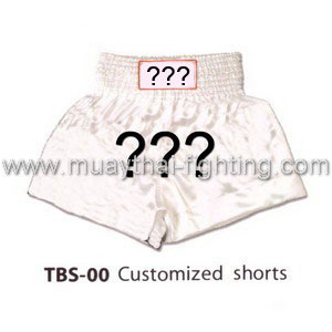 Muay Thai Shorts Customized TBS-00